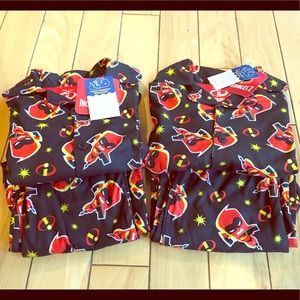 Disney Pixar Incredibles 2 PJ sets (2) NWT 4T